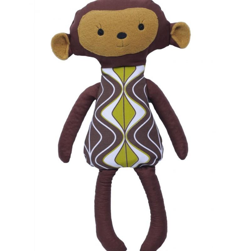 """Grikių lukštų žaislas (šildyklė) ,,Beždžionėlė"""""""