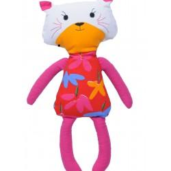 """Grikių lukštų žaislas (šildyklė) ,,Kačiukas"""""""