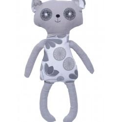 """Grikių lukštų žaislas (šildyklė) meškutis """"Panda"""""""