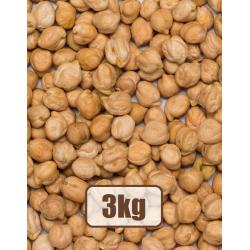 Organic Chickpeas 3kg (size...