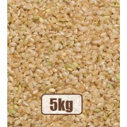 Organic brown rice 5kg...