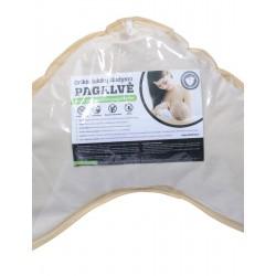 Grikių lukštų žindymo pagalvė (90x45 cm)